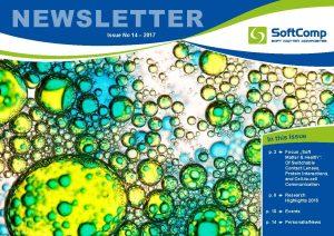 SoftComp Newsletter Issue No 14, published by Forschungszentrum Jülich GmbH, July 2017