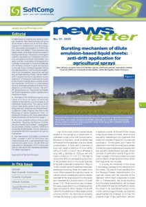 SoftComp Newsletter Issue No 13, published 2015 (pdf, 4 MB)