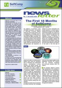 SoftComp Newsletter Issue No 1, published December 2015 (pdf, 1,1 MB)
