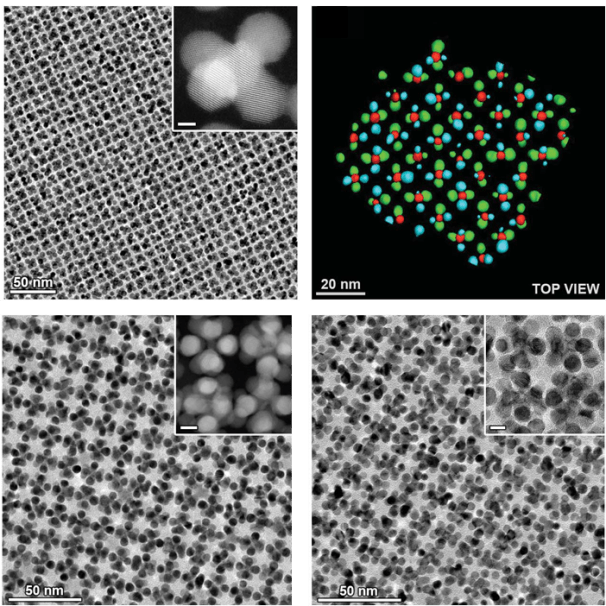 The research paper reveals the potential to further expand the extensive family of nanostructured materials. Images: From Science 358, 514 (2017). Reprinted with permission from AAAS.