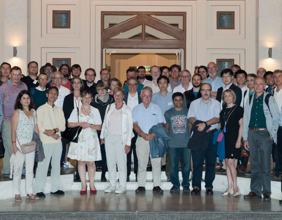 Participants of the Ring Polymers Workshop 2017 in Hersonissos. Copyright: A. Larsen, FORTH