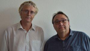 Taco Nicolai & Christophe Chassenieux, IMMM UMR-CNRS 6283, University of Le Mans, France. Picture: University of Le Mans