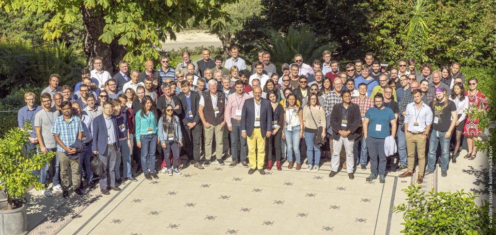 Group photo taken during the 2019 Joint Annual Meeting of SoftComp and EUSMI. Copyright: walbert visuelle