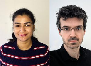 Preeti Sharma (left) and Joshua A. Dijksman from Wageningen University & Research, the Netherlands. Copyright: authors.